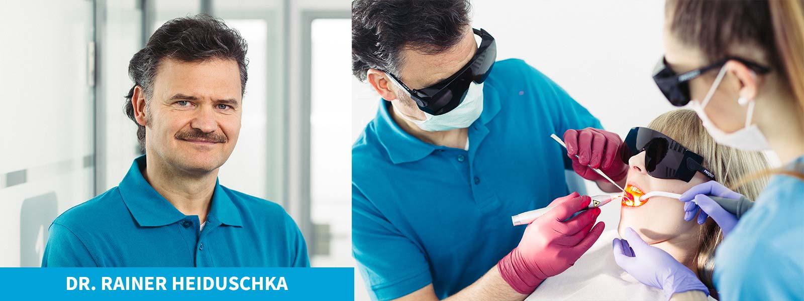 Unser Praxisteam - Dr. Rainer Heiduschka